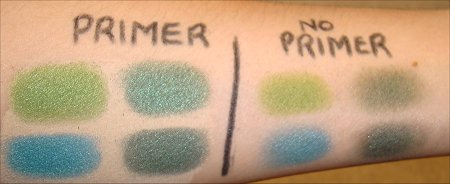Urban Decay Primer Potion Eden Swatches