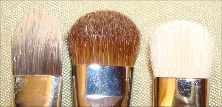 Everyday Minerals, Sigma & MAC Flat Dome Brushes