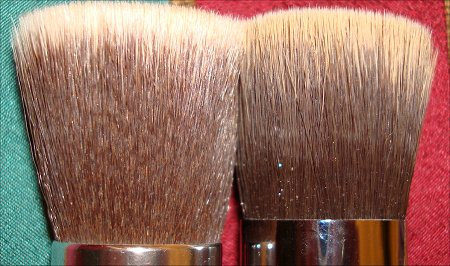 Sigma F80 vs. Everyday Minerals Bristles