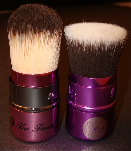 Left-Right: Too Faced & Sigma