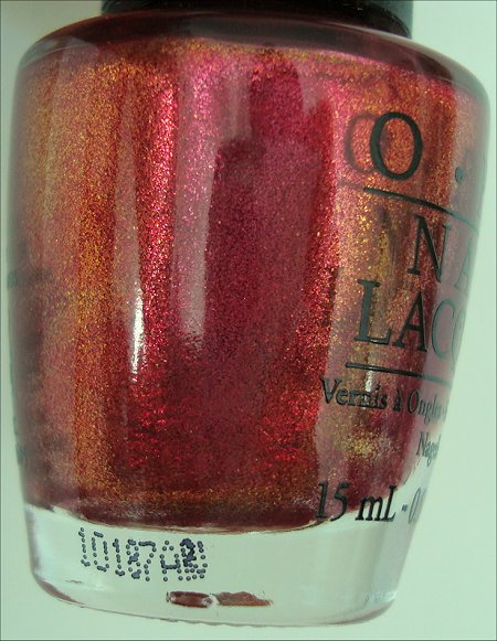 OPI The Show Must Go On Bottle