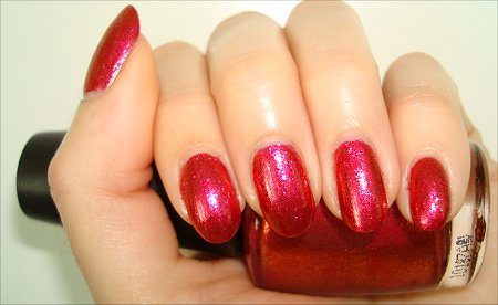 OPI The Show Must Go On Swatch