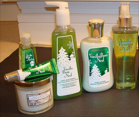Bath & Body Works Vanilla Bean Noel Collection