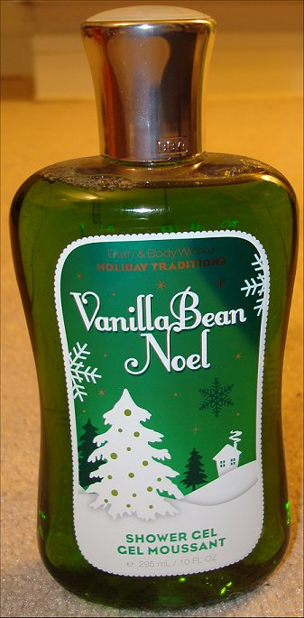 Bath & Body Works Vanilla Bean Noel Shower Gel