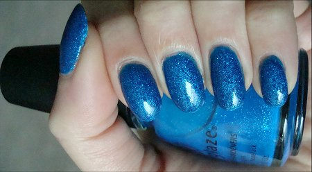 China Glaze Blue Sparrow Swatch