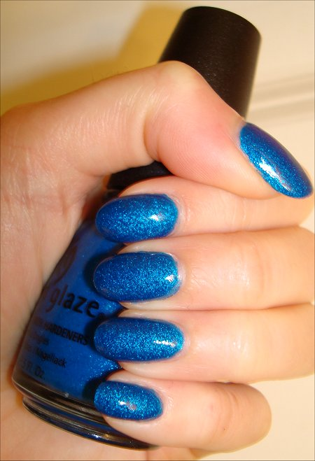 China Glaze Blue Sparrow Swatches