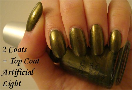China Glaze Peace On Earth Swatch