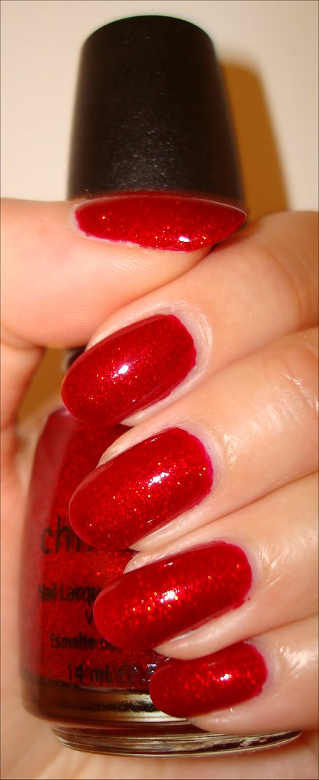 China Glaze Ruby Pumps Swatches