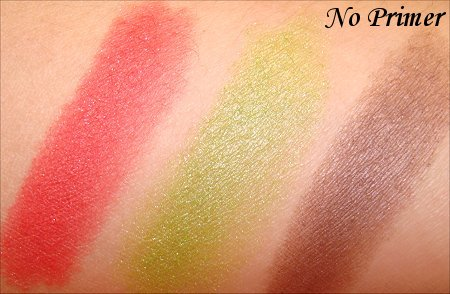 NYX Perpetual Swatches