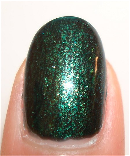Orly Meet Me Under the Mistletoe Swatch