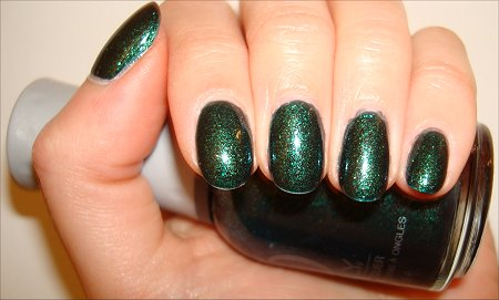 Orly Meet Me Under the Mistletoe Swatches