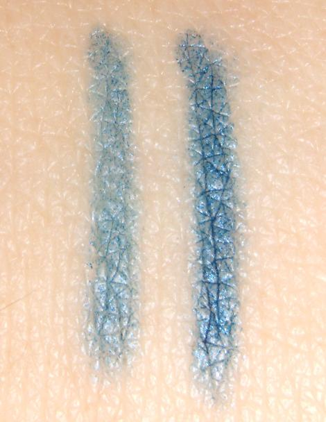 nyx slim eye pencil sapphire review swatches swatch and learn