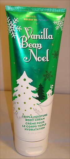 Bath & Body Works Vanilla Bean Noel Triple Moisture Body Cream