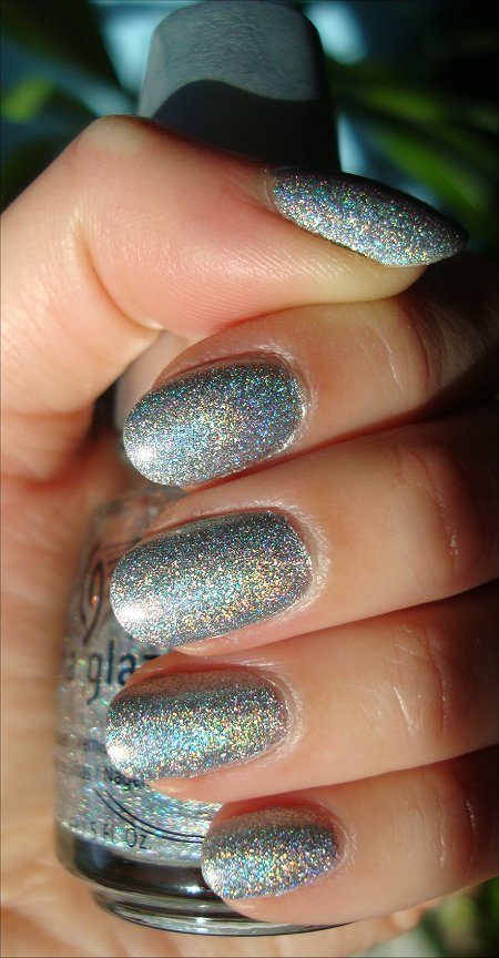 China Glaze Kaleidoscope Collection Sexagon Swatch