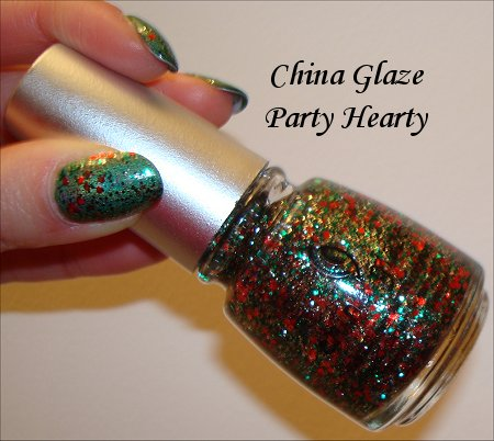 China Glaze Party Hearty Tis The Season Collection