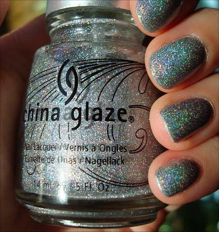 China Glaze Sexagon Bottle