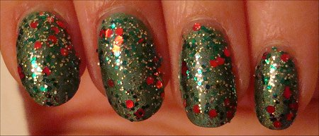 China Glaze Tis The Season Collection Party Hearty Swatch
