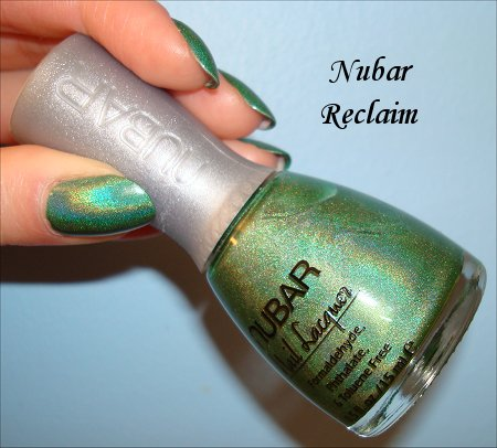 Nubar Reclaim Nail Polish Bottle