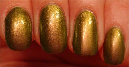Nubar Wildlife Swatch Going Green Collection Swatches