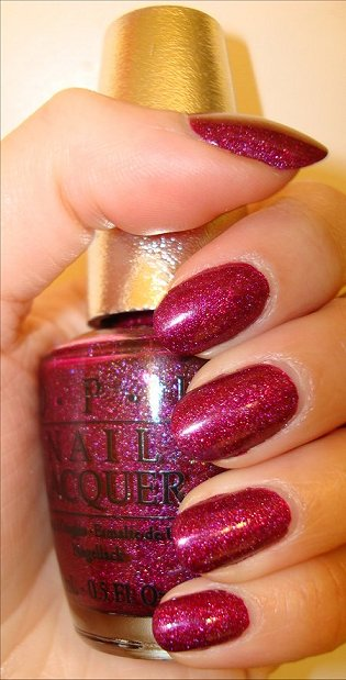 OPI Extravagance Swatches