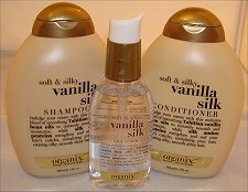 Organix Soft & Silky Vanilla Silk Collection
