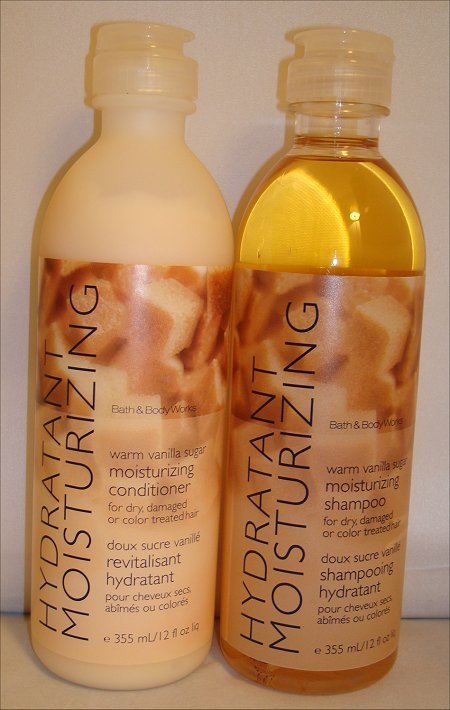Bath & Body Works Warm Vanilla Sugar Moisturizing Shampoo & Conditioner