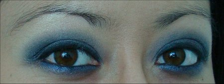 Blue & Gray Eye Look