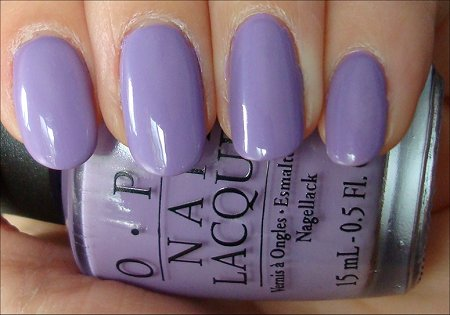 Do You Lilac It OPI Brights Collection Swatches