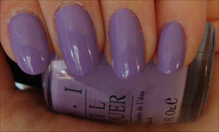 Do You Lilac It OPI Nail Polish Swatches