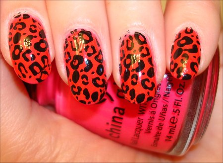 Konad tutorial how to use the konad stamping kit to create easy konad nail art stamping kit leopard swatch prinsesfo Choice Image