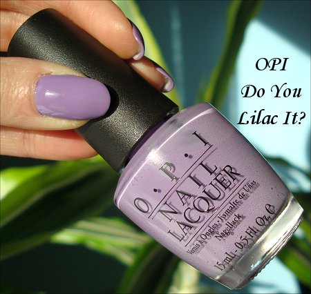 OPI Do You Lilac It? Swatches & Review | Swatch And Learn  OPI Do You Lila...