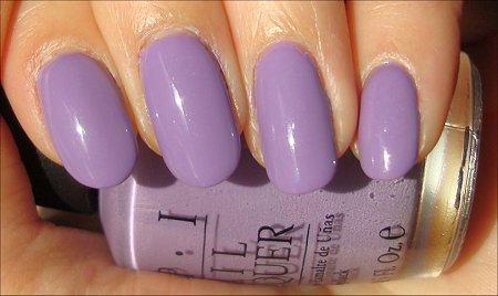 OPI Do You Lilac It Review