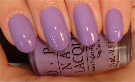 OPI Do You Lilac It Swatches Review