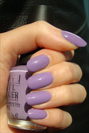 OPI Do You Lilac It Swatches