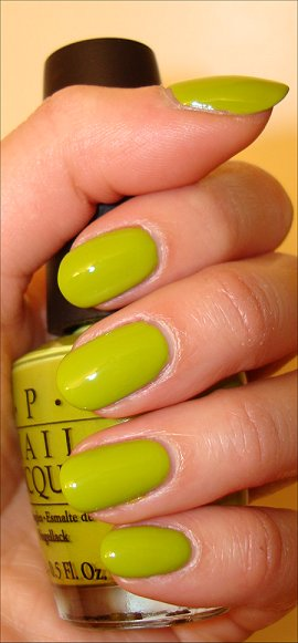 OPI Who the Shrek Are You Swatches
