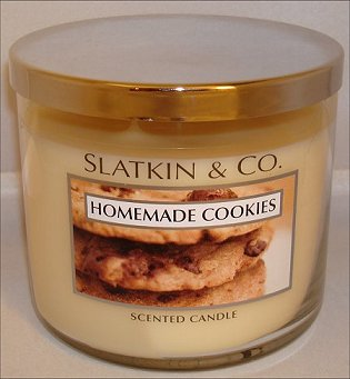 Slatkin & Co. Homemade Cookies Candle