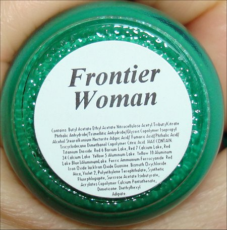BB Couture Frontier Woman Ingredients