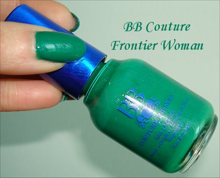 BB Couture Frontier Woman Nail Polish Swatches