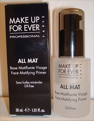 Make Up For Ever All Mat Face Mattifying Primer