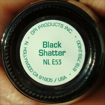 OPI Black Shatter Bottle