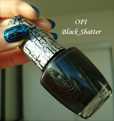 OPI Black Shatter Polish