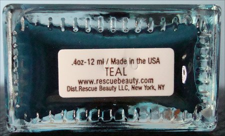 Rescue Beauty Lounge Teal Nail Polish
