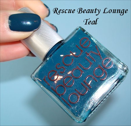 Teal Rescue Beauty Lounge Nail Polish