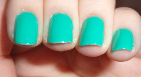 elf Teal Blue Swatch