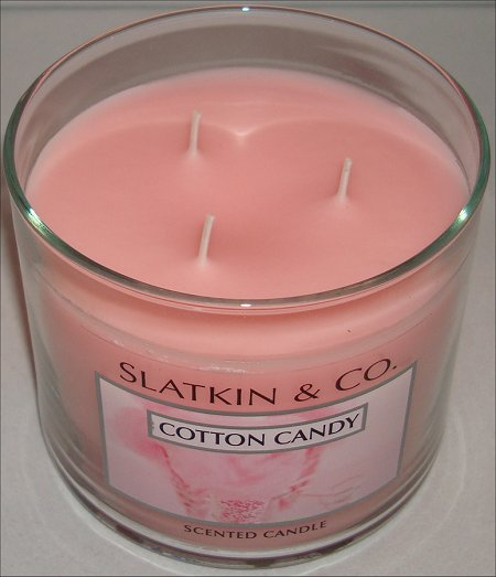Bath & Body Works Cotton Candy Candle Review
