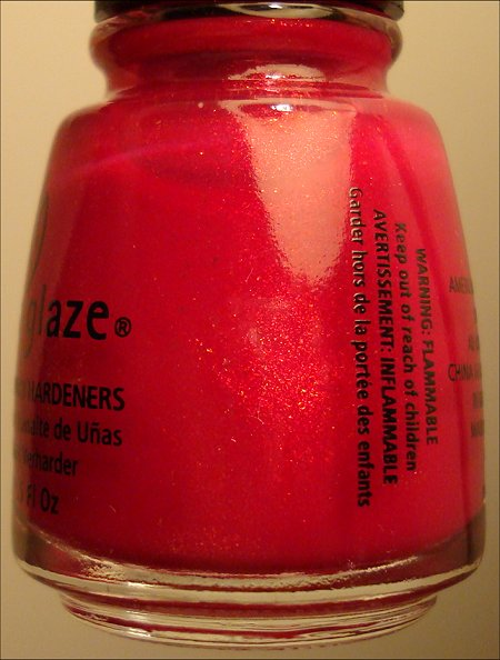 China Glaze Ahoy Nail Polish Bottle Pictures