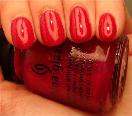 China Glaze Ahoy Swatches Anchors Away Collection Swatch
