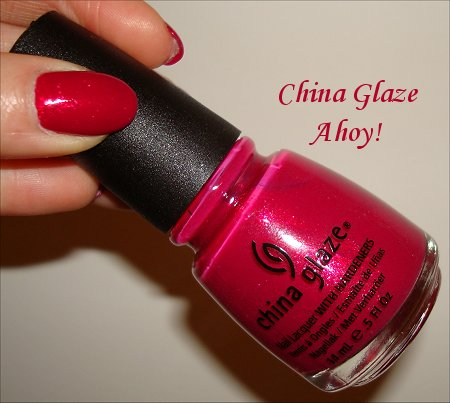 China Glaze Ahoy from Anchors Away Collection