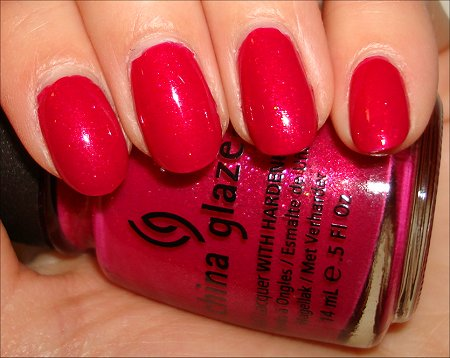 China Glaze Anchors Away Collection Swatches