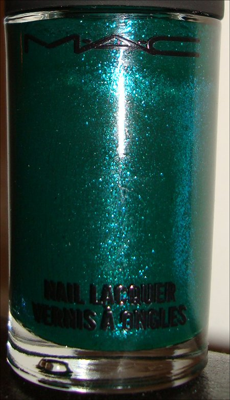 MAC Jade Dragon Nail Polish Swatch